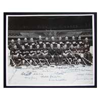 stanley cup detroit red wings signed photo